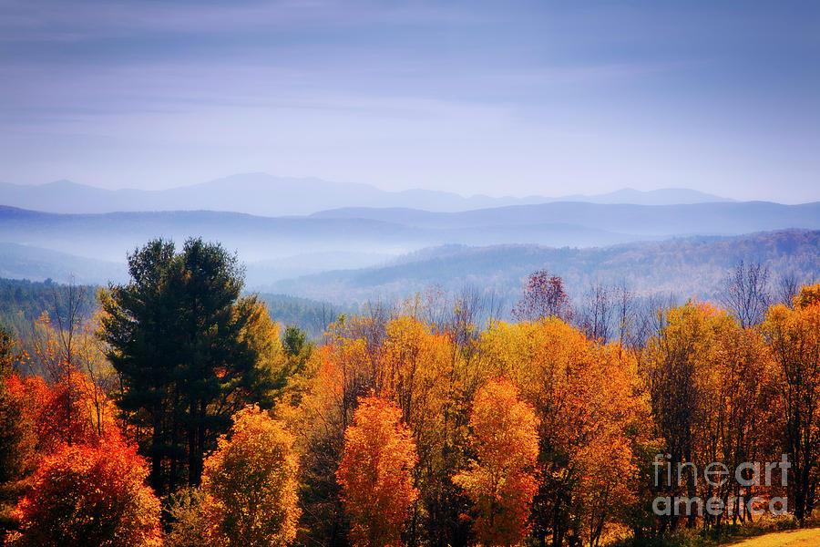 Vermont Photograph - Morning Fog by Scott Kemper