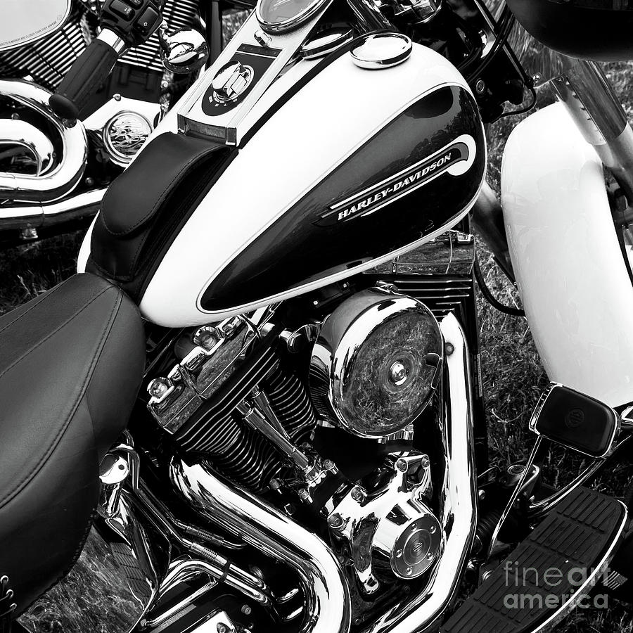 Strong Photograph - Motorcycle by Avril Christophe
