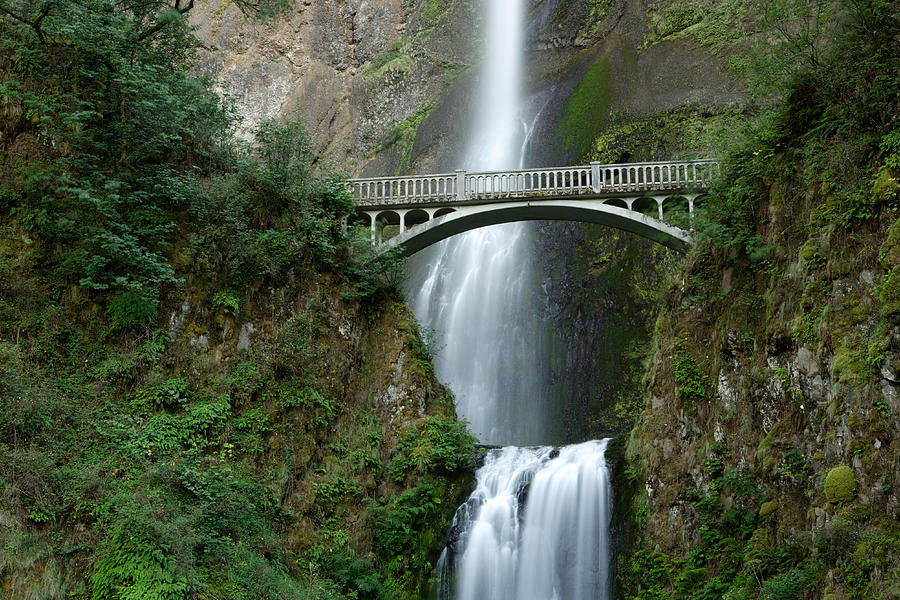 Oregon Photograph - Multnomah Falls by Eric Foltz