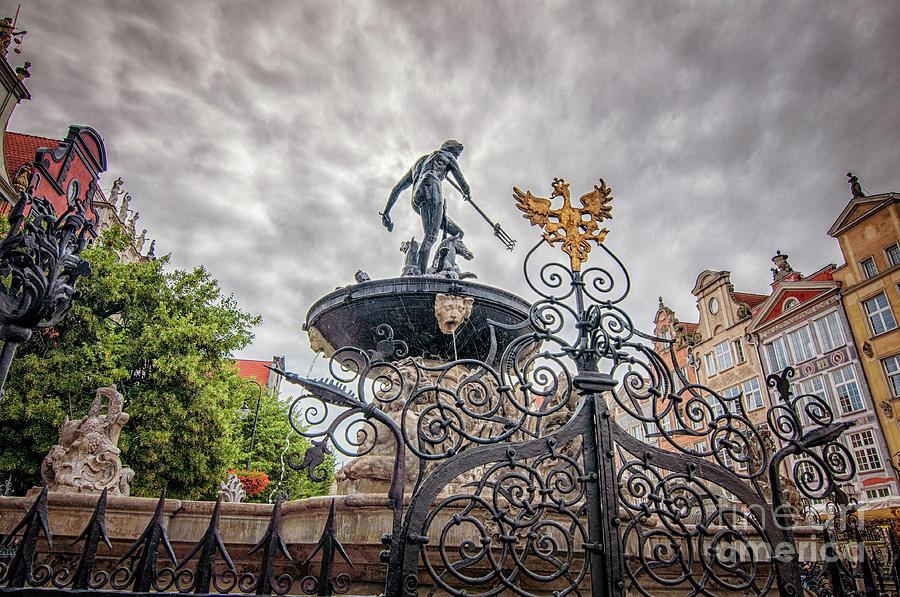 Naptunes Fountain Photograph