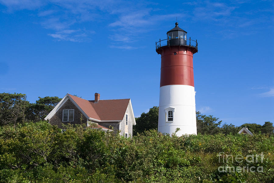 Cape Cod Photograph - Nauset Light by John Greim