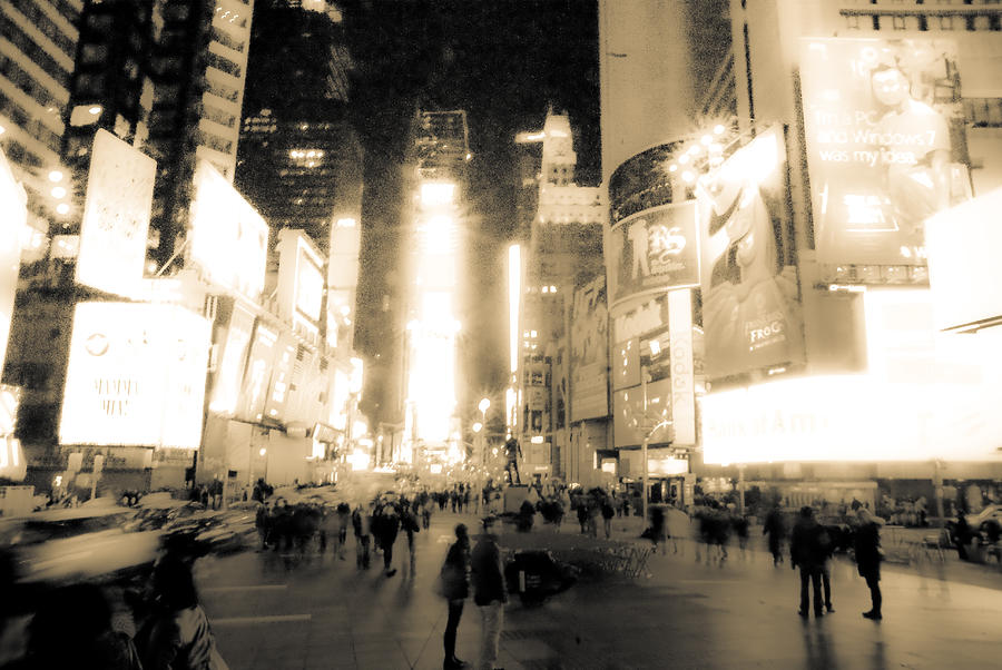 Times Square Photograph - New York by Patrick  Flynn