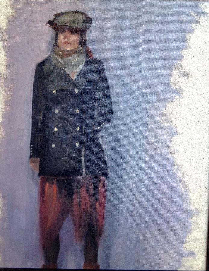 Nicole Painting by Cynthia Mozingo