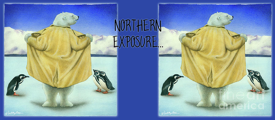 Will Bullas Painting - Northern Exposure... by Will Bullas