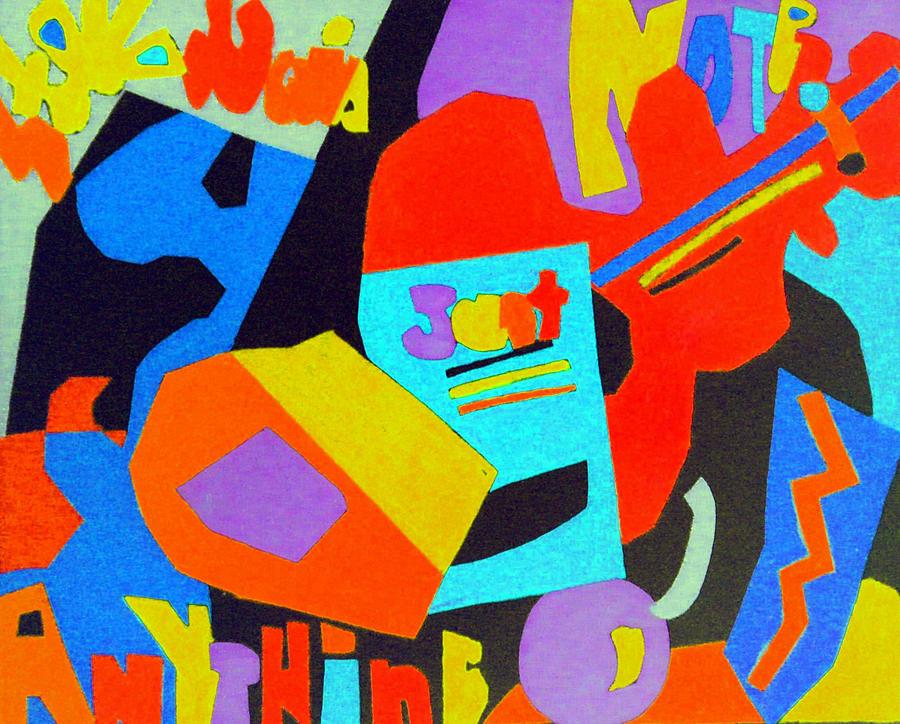 Chalk Pastel Digital Art - Note Just Anything by Stephen Davis
