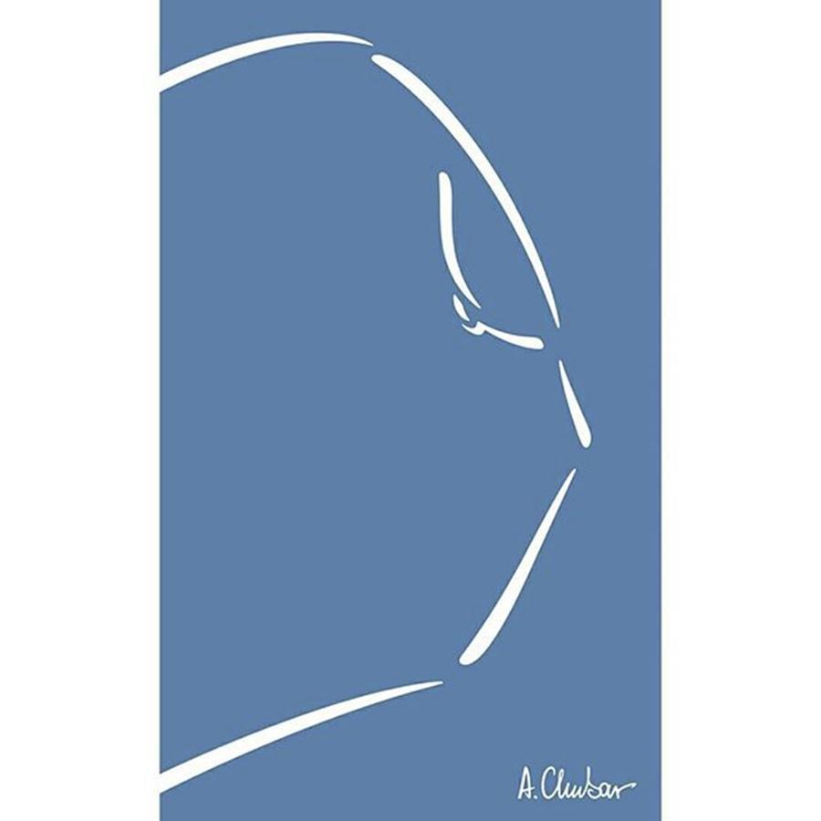 Line Drawing - Nude By Alexander Chubar#art by Alexander Chubar