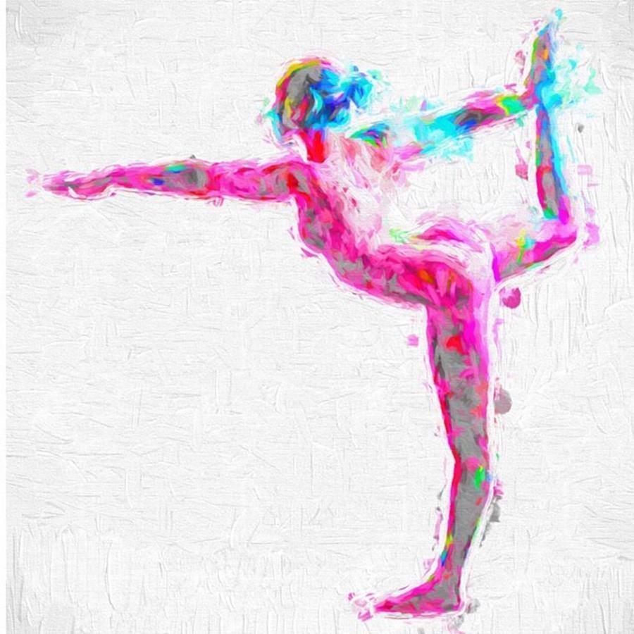 Beautiful Photograph - @nude_yogagirl #nudeyogagirl by David Haskett II