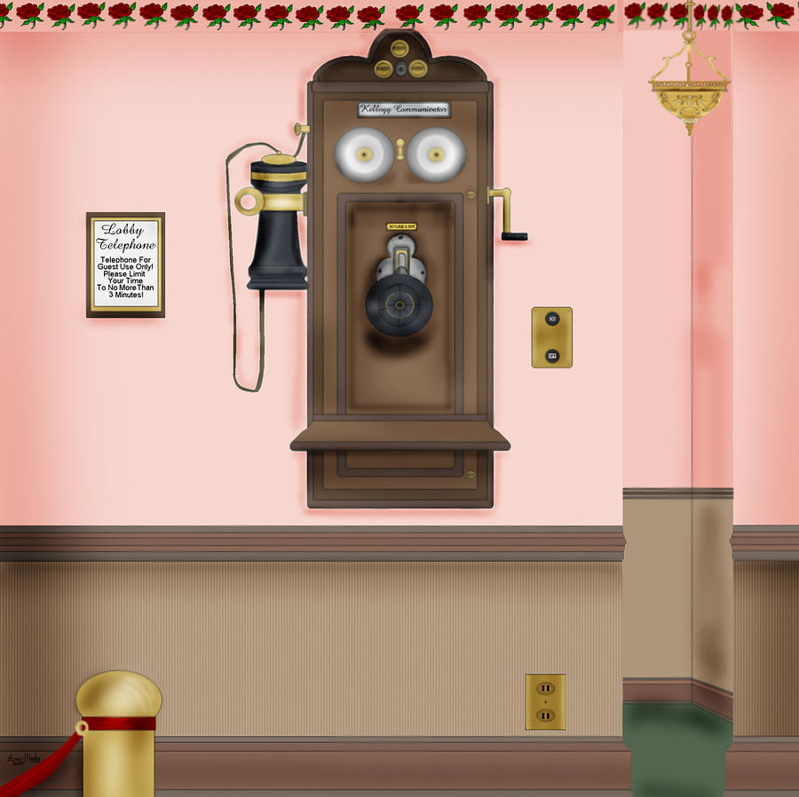 Historical Painting - Number Please by Anne Norskog