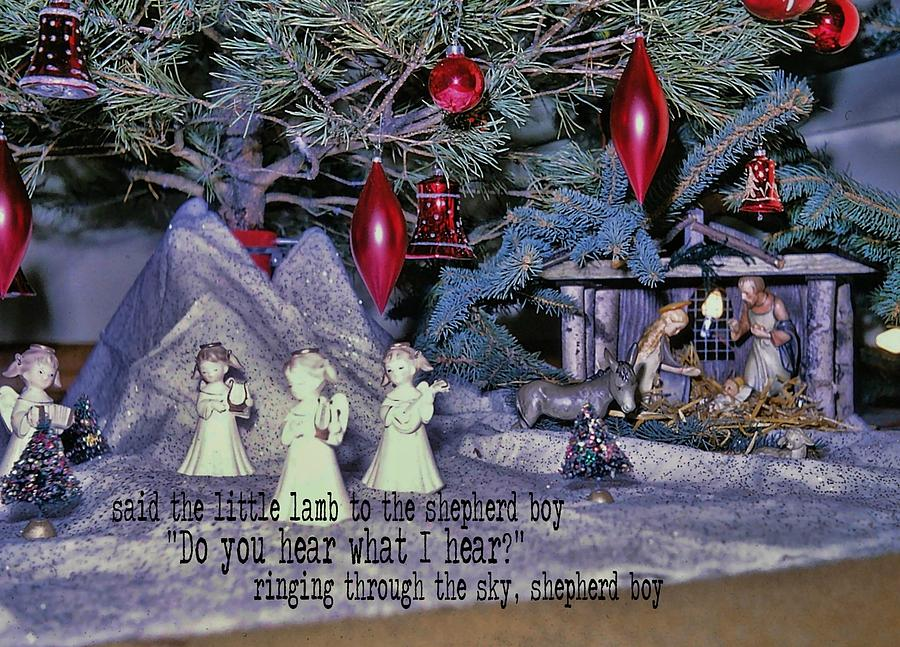 Holy Photograph - O Holy Night Quote by JAMART Photography