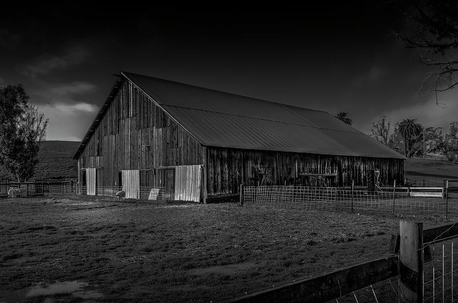 Old Barn by Bruce Bottomley