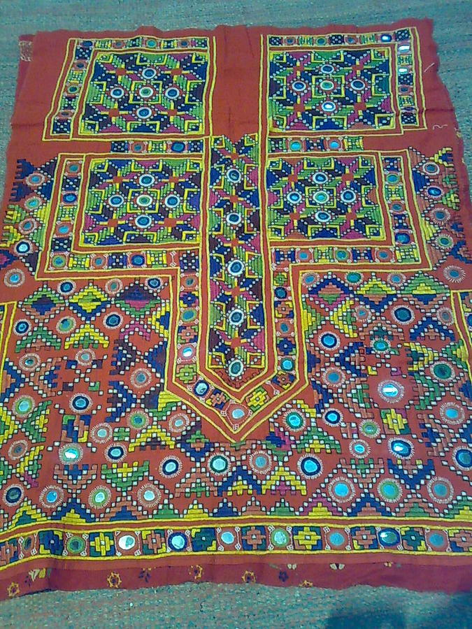 Old Dress Tapestry - Textile by Dinesh Rathi