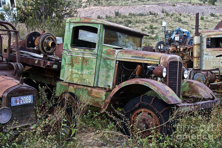 Old Truck Photograph - Old Truck by Anthony Jones