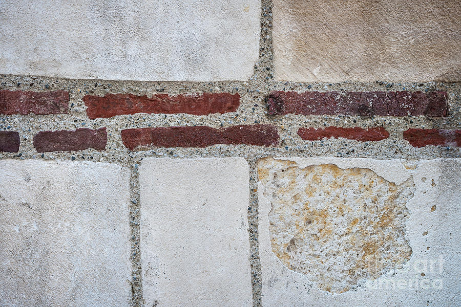 Wall Photograph - Old Wall Fragment by Elena Elisseeva