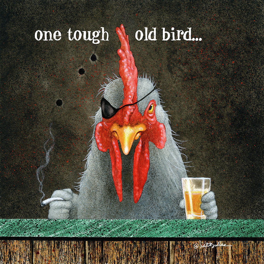 one tough old bird... by Will Bullas