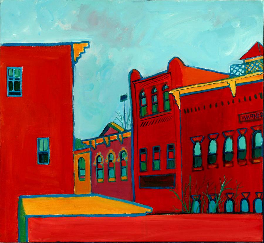 City Painting - Opera House by Debra Bretton Robinson