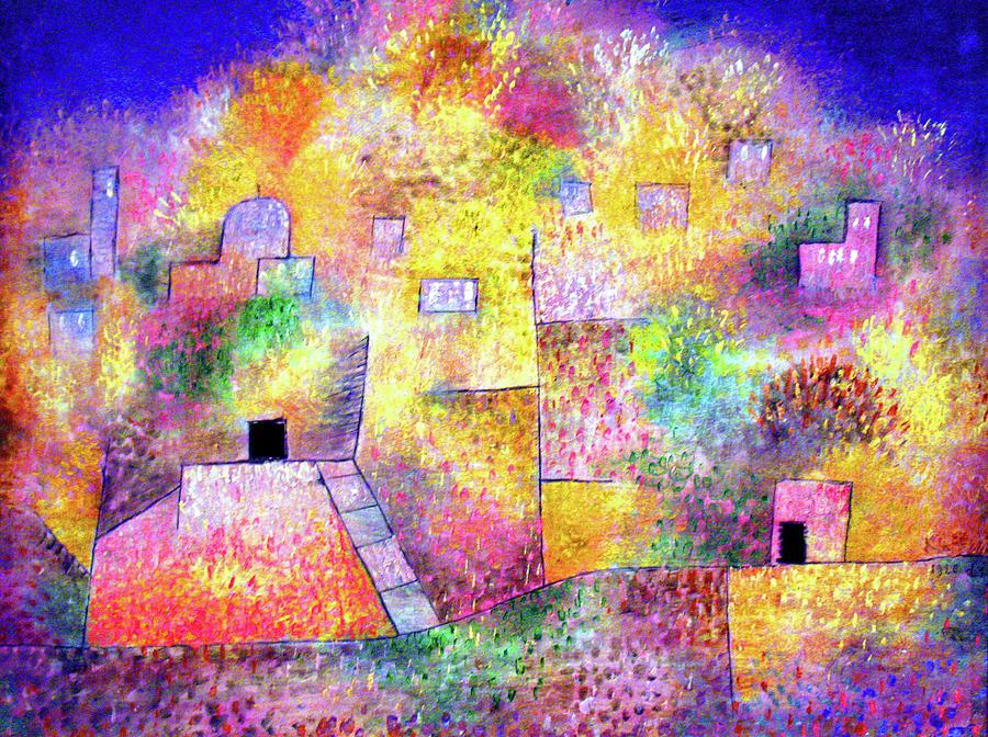 Paul Klee Painting - Oriental Pleasure Garden by Paul Klee