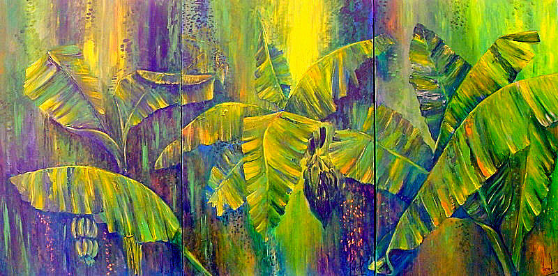 Nature Painting - Our Richness by Carol P Kingsley