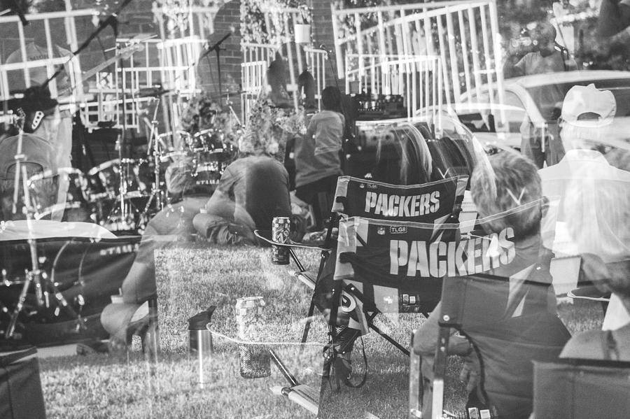 Packers Photograph - Packers Fan by Marit Runyon