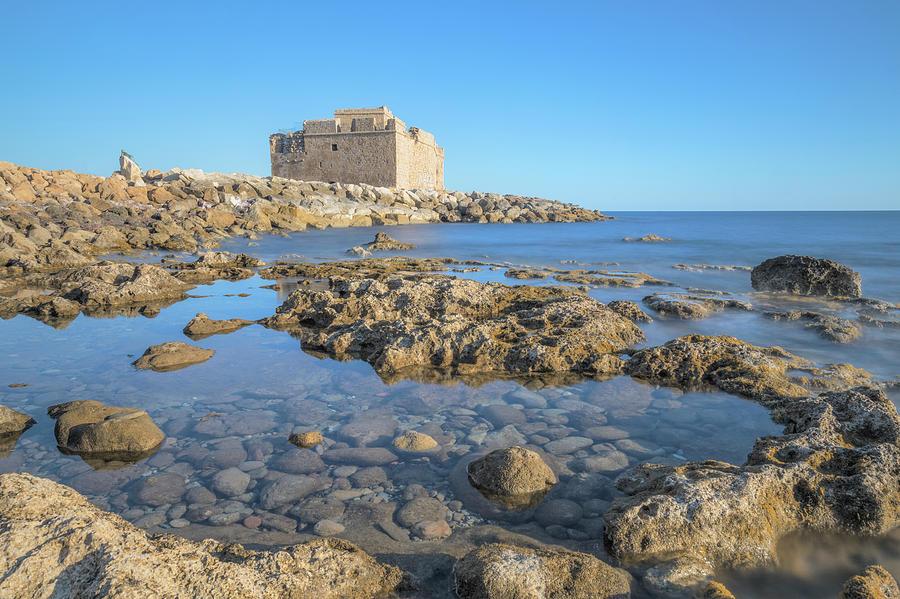 Paphos Castle Photograph - Paphos - Cyprus by Joana Kruse
