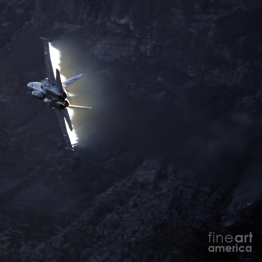 Alps Photograph - Phoenix by Angel  Tarantella