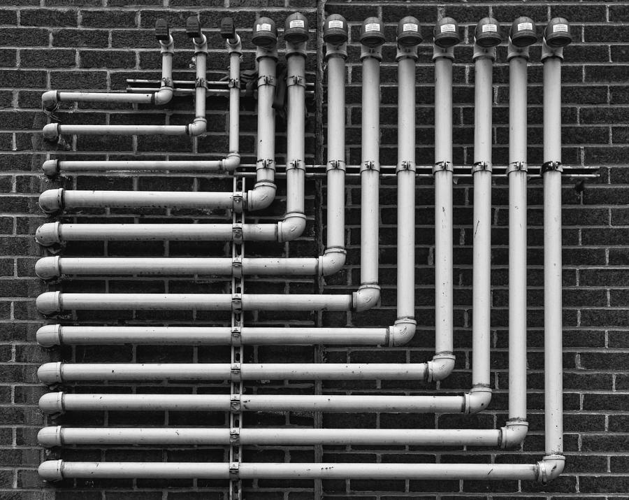 Pipes Photograph - Pipes by Robert Ullmann