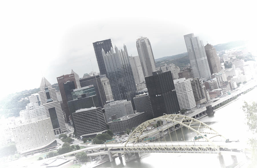 Pittsburgh Skyline From Mt Washington Photograph