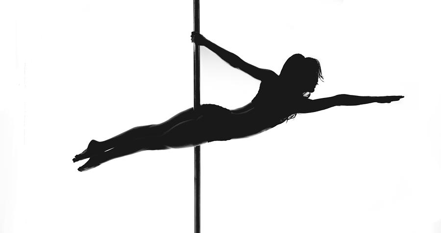 Pole Silhouette Photograph by Marino Flovent