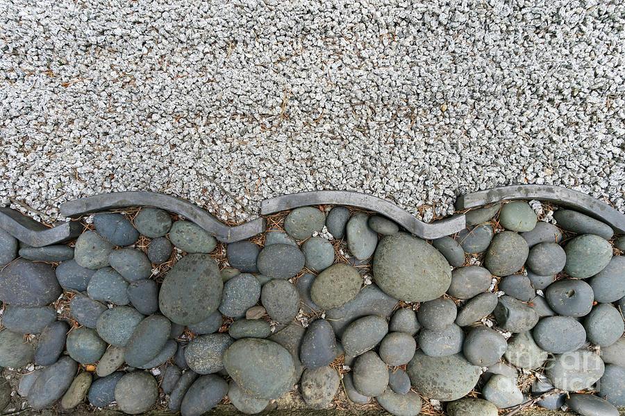 Portland Japanese Garden Minimalist Zen Stone Garden Path Art ... on