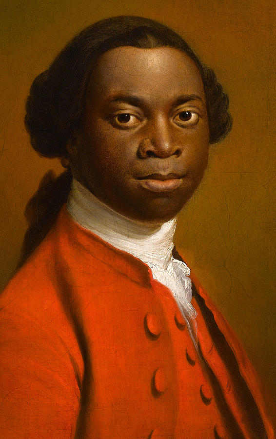 Ramsay Painting - Portrait Of An African by Allan Ramsay