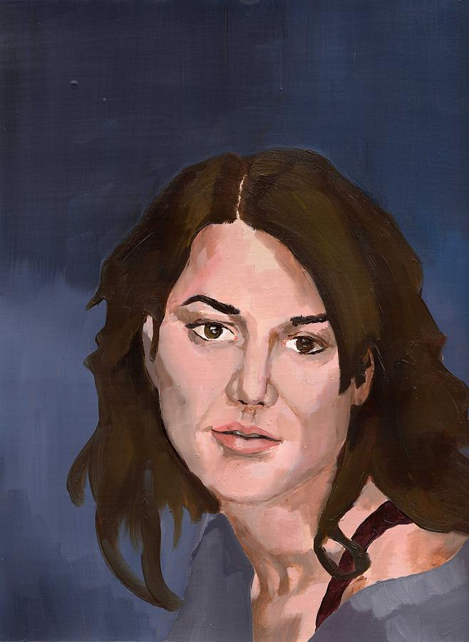 Painting Painting - Portrait by Stephen Panoushek