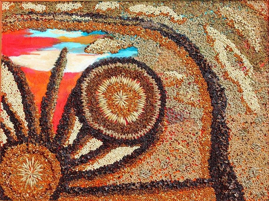 Prairie Energy III by Naomi Gerrard