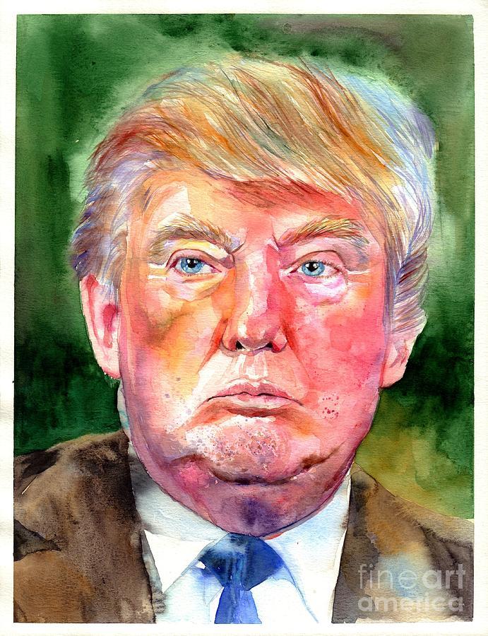 Trump Painter of the Wall Hoodie