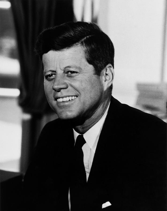 Jfk Photograph - President Kennedy by War Is Hell Store
