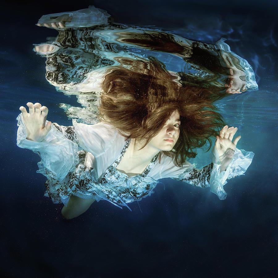 Girl Photograph - Princess by Dmitry Laudin