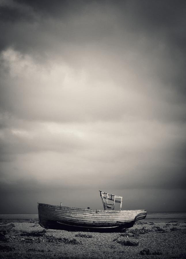 Landscape Photograph - Projekt Desolate Shoreline  2 by Stuart Ellesmere