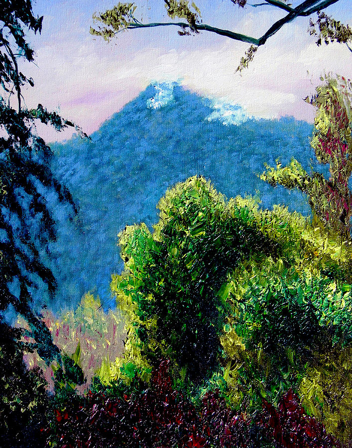 Rain Forrest Painting - Rain Forrest by Stan Hamilton