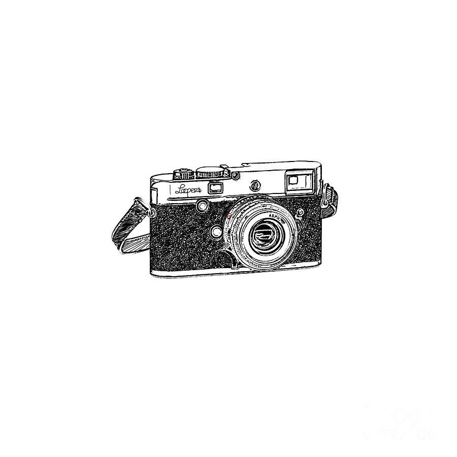 Analog Digital Art - Rangefinder Camera by Setsiri Silapasuwanchai
