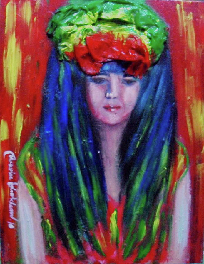 Rasta Girl by Wanvisa Klawklean