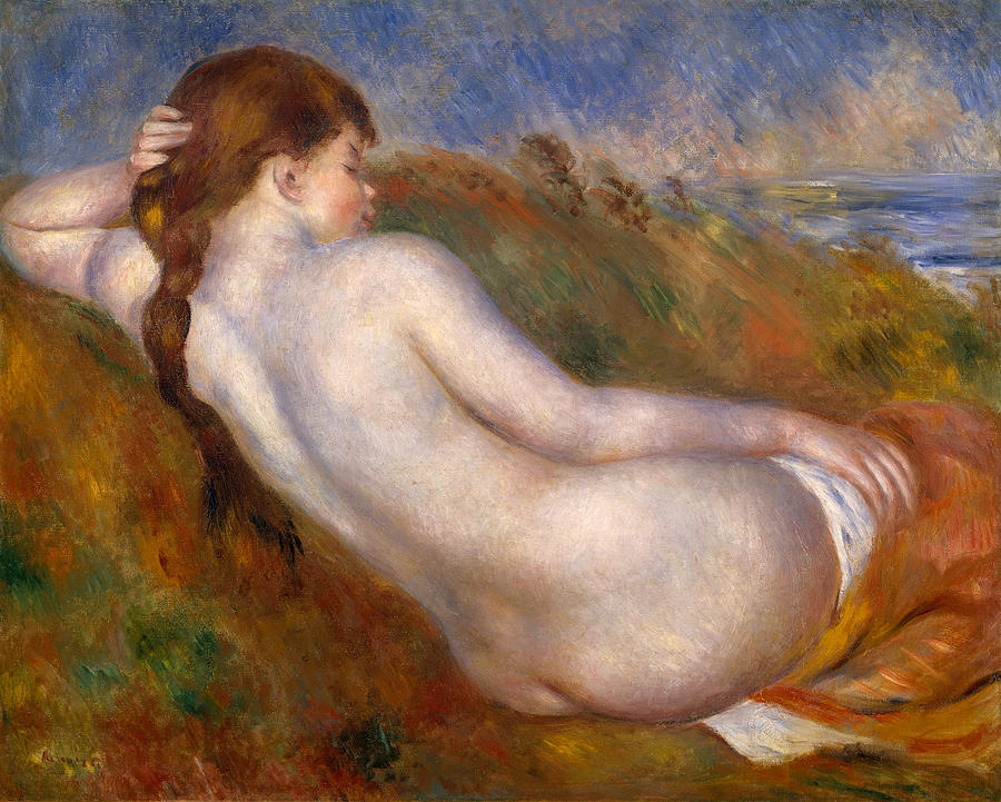 Painting of a naked woman monet, amature little pussies