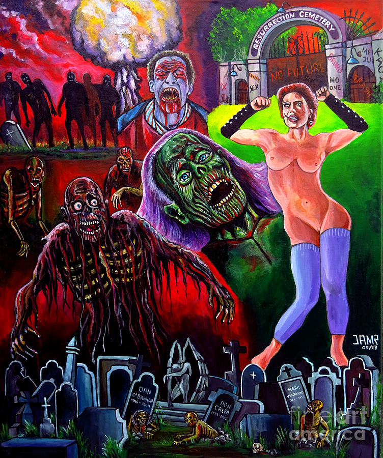 Return Of The Living Dead Painting - Return Of The Living Dead by Jose Mendez