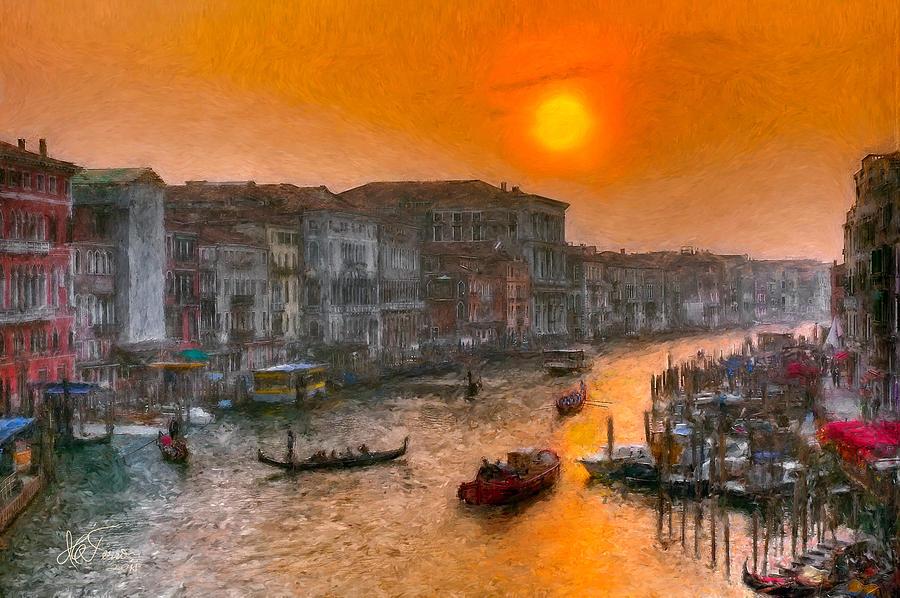 Riva del Ferro. Venezia by Juan Carlos Ferro Duque