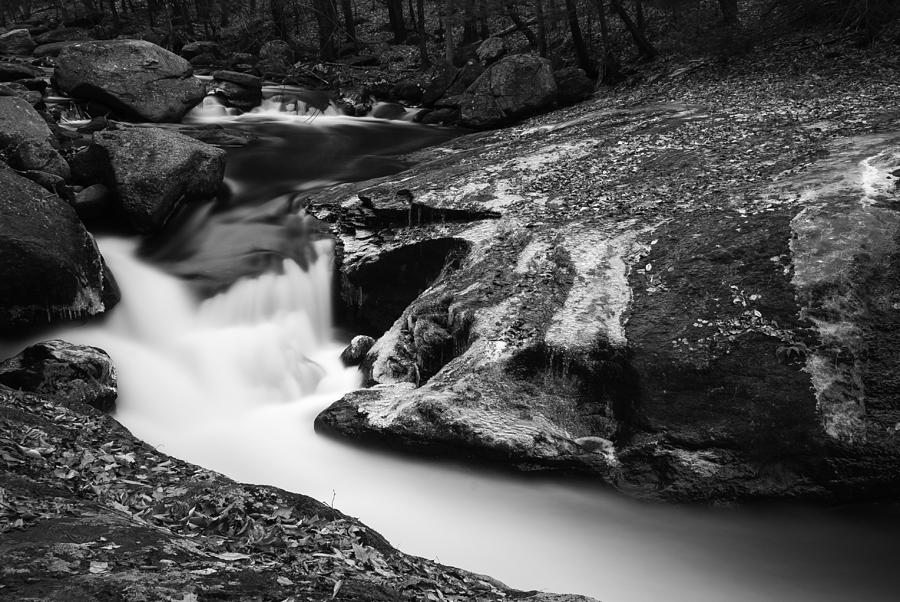 10 Stop Nd Filter Photograph - Roaring Brook by Clifford Pugliese