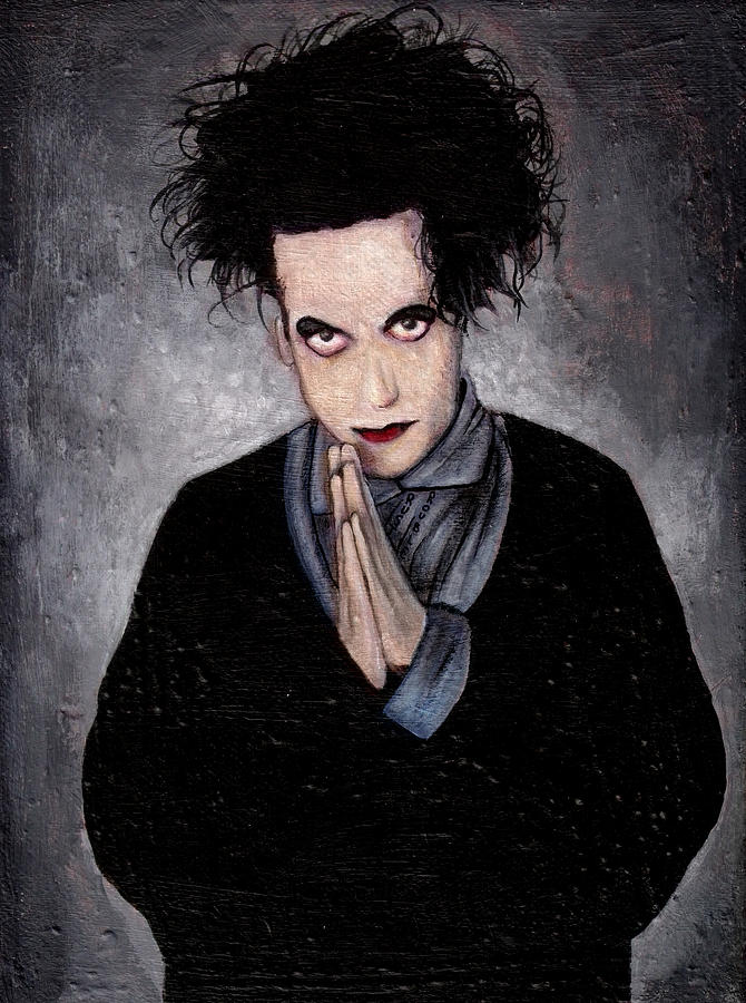 Robert Smith Painting - Robert Smith by Rouble Rust