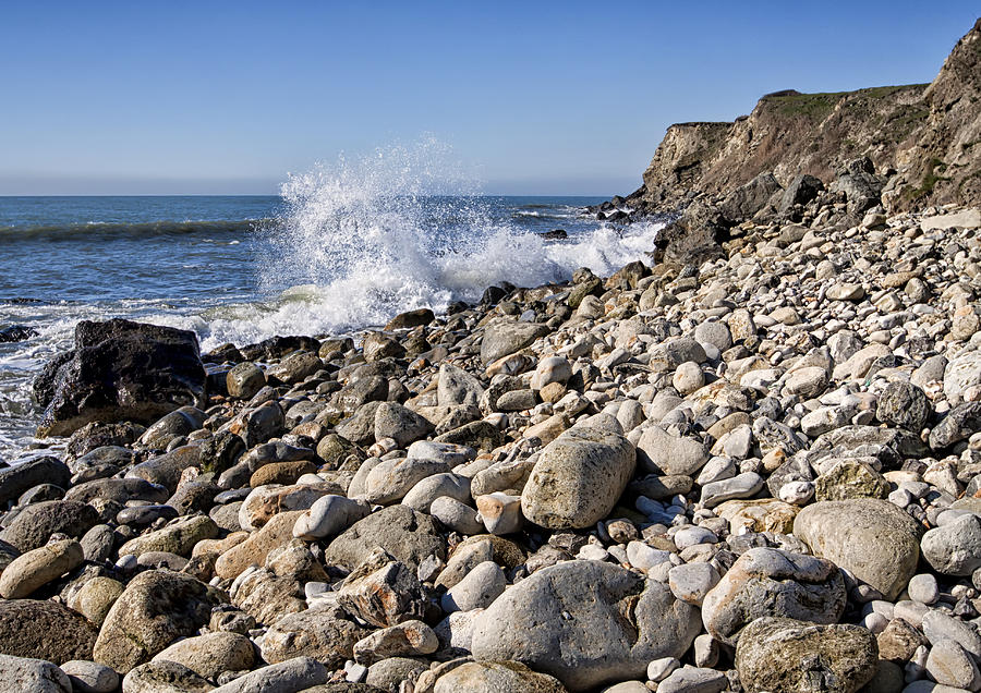 Granite Photograph - Rocky Bay by Shirley Mitchell