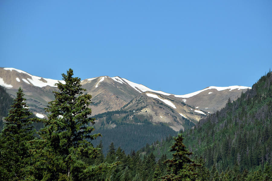 Rocky Mountains Photograph - Rocky Mountains 2 by Linda Benoit