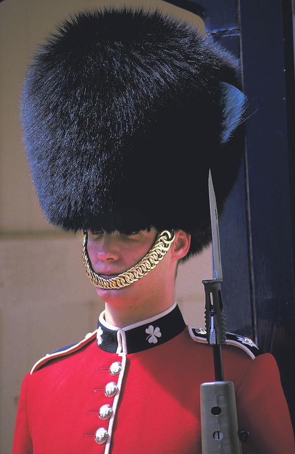 Royal Guard At Buckingham Palace Photograph