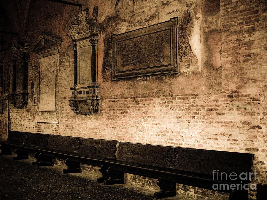 Monochrome Photograph - S. Guistina Di Padova by Emilio Lovisa
