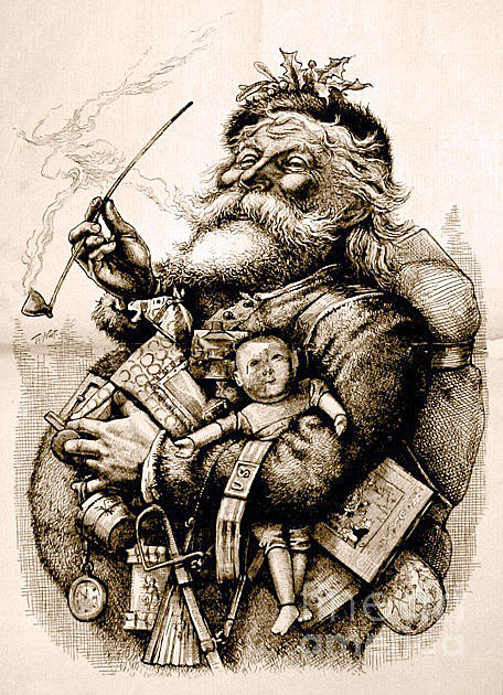 Holiday Photograph - Santa Claus by Frederick Holiday