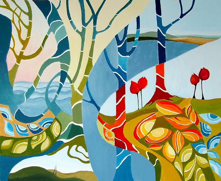 Colourful Painting - Seasons Of Creation by Carola Ann-Margret Forsberg