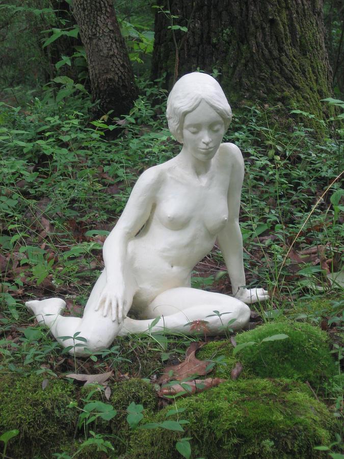 Woman Sculpture - Serenity by Deborah Dendler